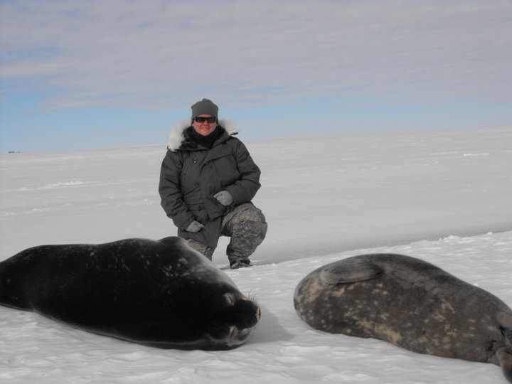 Audra and some local seals
